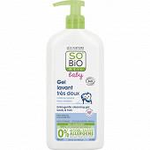 So bio etic baby gel lavant tres doux 500ml