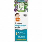 Baume respiratoire enfant aux 6 huiles essentielles bio 50ml