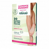 Laurence Dumont bandes de cire froide naturelle jambes et corps x20