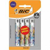 Briquet J26 maxi décor blister de 4 format spécial