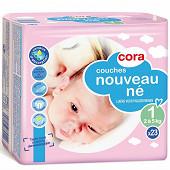 Cora baby couches taille 1 nouveau ne (2 à 5kg) x23
