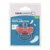 Sucette natural physio tout silicone X1 taille 18/36 mois Bébé Confort