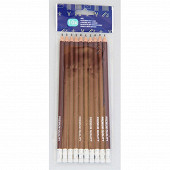 10 crayons HB/2 avec gomme 85112