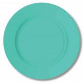 Assiettes rondes x10 old blue 23cm