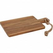 Planche à découper en bois 34 x 18 x 1.5 cm
