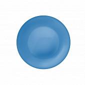 Assiette dessert 21cm bleue new acqua