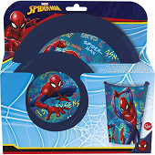 Set de repas 3 pièces Spiderman