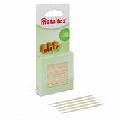 Metaltex piques bois x300 en boite distributrice