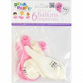 Ballons x6 ballerines