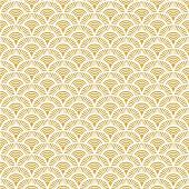 Mesa bella serviettes x20 paon géométrique or 33x33cm