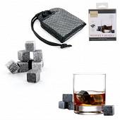 Lot de 9 glaçons pierre à whisky