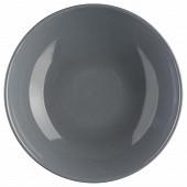 Assiette creuse gris 22 cm