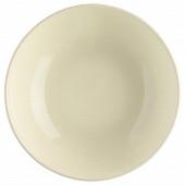Assiette creuse ivoire 22 cm