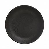 Assiette creuse coloris noir 20 cm