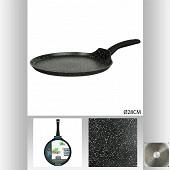 """Poêle à crêpe aluminium forgé diamètre 28 cm """"caractère"""""""