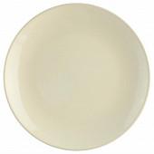 Assiette plate ivoire 26 cm
