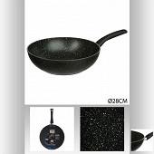 """Wok aluminium forgé diamètre 28 cm """"caractère"""""""