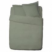 Influx drap plat 240x310 percale vert