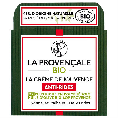 La Provençale Bio La Provencale bio jouvence anti-rides crèmes 50ml cosmosorg