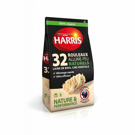 Harris rouleau allume feu naturel 32 rouleaux