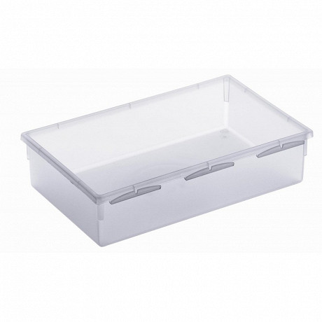 Organiseur tiroir 23x15 transparent