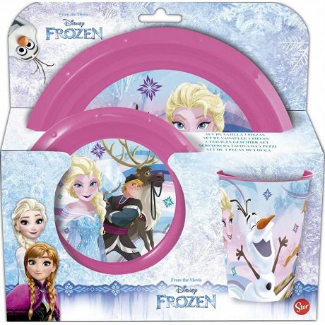 Set de repas 3 pièces Frozen