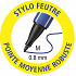 Stabilo blister stylo-feutre 4 point max noirs
