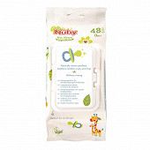 48 lingettes antibactériennes Nuby