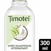 Timotei après-shampoing hydratant coco et aloé vera 300ml