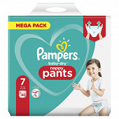 Pampers baby dry pants couches-culottes mega taille 7 62ct