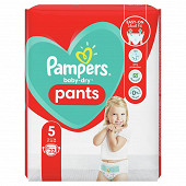 Pampers baby dry pants couches-culottes paquet taille 5 22ct