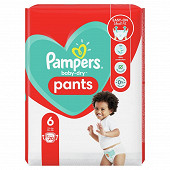 Pampers baby dry pants couches-culottes paquet taille 6 20ct