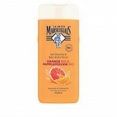 Le petit marseillais douche & bain extra doux orange bio & pamplmoussebio 650ml