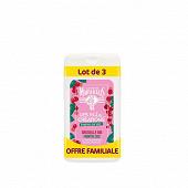 Le Petit Marseillais gel douche les petites créations groseille bio/menthe bio 2x250ml