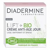 Diadermine lift+ bio creme jour bio cosmos 50ml