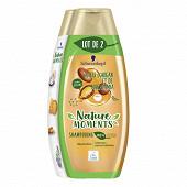 Shampooing nature moments huiles d'argan & macadamia l2sp
