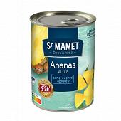 St Mamet ananas morceaux 3/4 570g