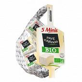 Pavé affinois filet de 5 mini pavé bio 125g 31%mg