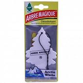 Arbre magique desodorisant voiture blanc artic white