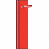 Nappe rouleau textile touch unie scarlet 1.38 x 5m