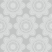 Serviettes x20 mandala gray 33x33cm 3 plis