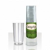 Gobelets x4 à eau tube transparent 285ml