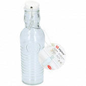 Bouteille en verre 250 ml avec bouchon