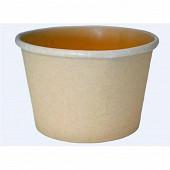 12 pots a glace biodégradables 230 ml
