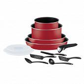 Téfal ingenio essential rouge bugatti 12 pièces NON INDUCTION