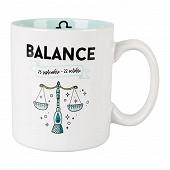 Mug gres 32cl horoscope balance