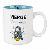 Mug gres 32cl horoscope vierge