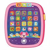 Lumi tablette des découvertes rose