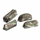 Trousse oxford camouflage 4 modèles