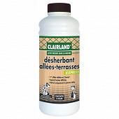 Clairland biocontrole désherbant terrasses & allées  actif présent dans la nature 1 litre